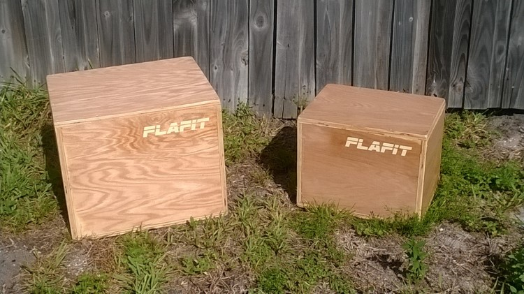 different height plyo boxes