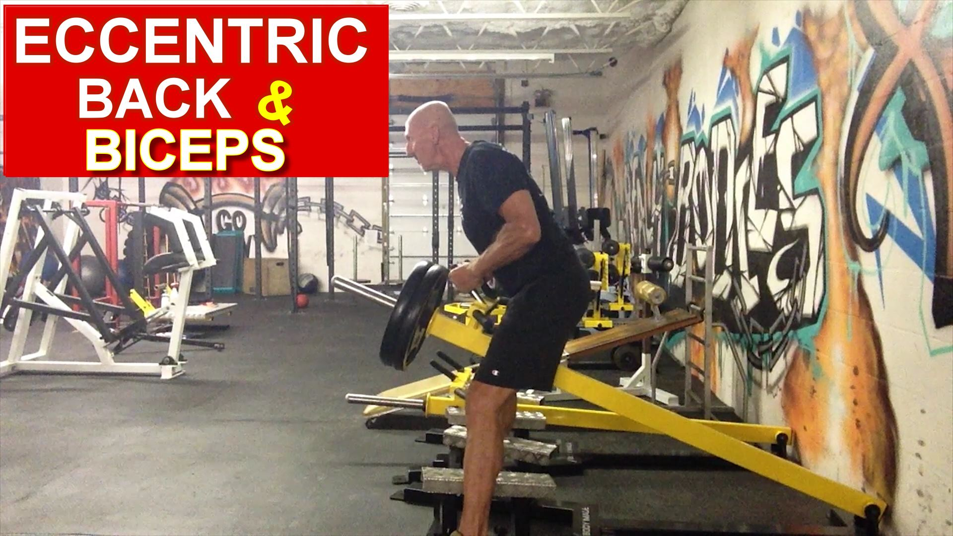 eccentric back and biceps exercises big muscle break down